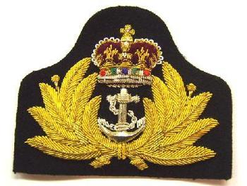 Image result for rn officers cap badge