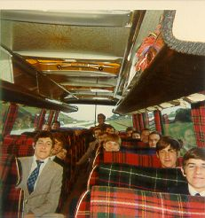 Edinburgh 1974.  The SMART communicators of HMS Jupiter enroute to Holyrood Palace [and subsequently to the Beehive - Edinburgh hotel] for a farewell run ashore with their DO, HRH The POW. Note their clean tidy and orderly appearance.